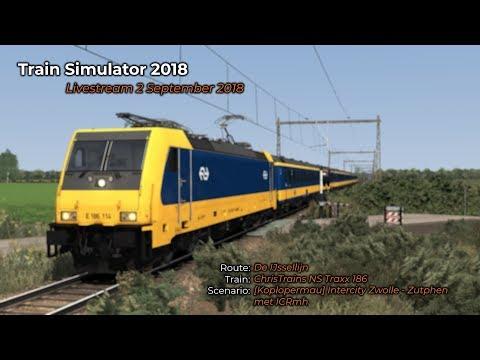 [Koplopermau] Intercity Zwolle - Zutphen met ICRmh (Livestream 02/09/2018)