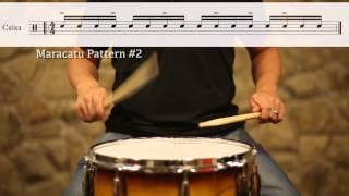 Maracatu Caixa Rhythms #1-3