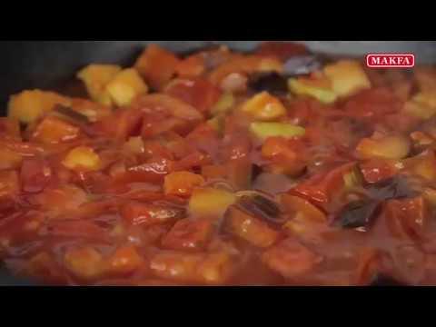 MAKFA | Рис с тушеными овощами и соевым мясом