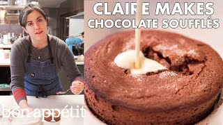 Claire Makes Individual Chocolate Soufflés | From the Test Kitchen | Bon Appétit width=