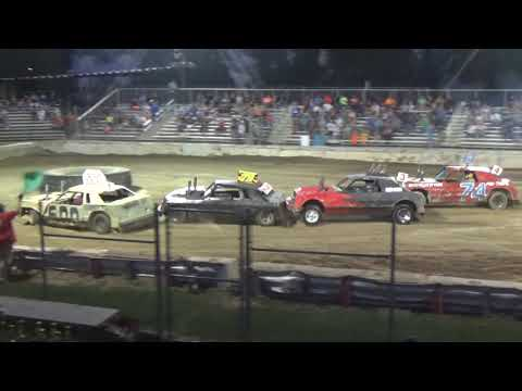 USA Figure Eight Championship 2018 (RWD cars) Heat 3(Munger,Michigan)