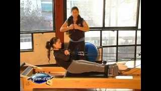 Pilates Reformer - Rowing 1 (remo) - Prof. Nancy Sabo