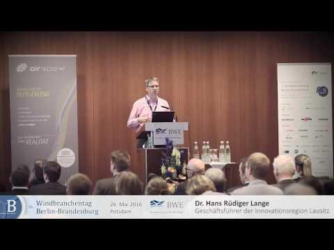 Dr  Hans Rüdiger Lange, Geschäftsführer der Innovationsregion Lausitz GmbH 1