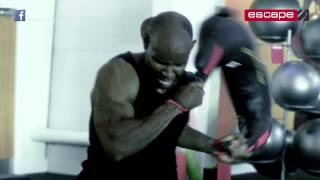 Functional training Bulgarian Bag at Virgin Active with Ivan Ivanov and Tommy Matthews