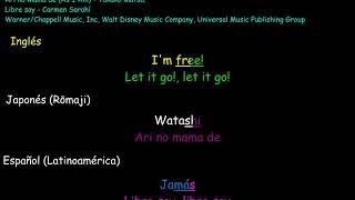 Let It Go, Ari no Mama de, Libre Soy Karaoke