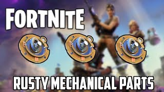 How To Farm Rusty Mechanical Parts In Fortnite |Fortnite Farming Guide