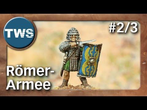 Bemalung: Römer-Armee für SAGA #2/3 / roman army (Tabletop-Miniaturen, Malathon, TWS)