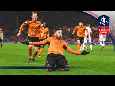 Stoke City 0-2 Wolverhampton Wanderers - Emirates FA Cup 2016/17 (R3) | Goals & Highlights