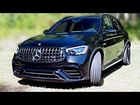 Full Black 2020 GLC 63 AMG ? Beautiful Mercedes Sports SUV