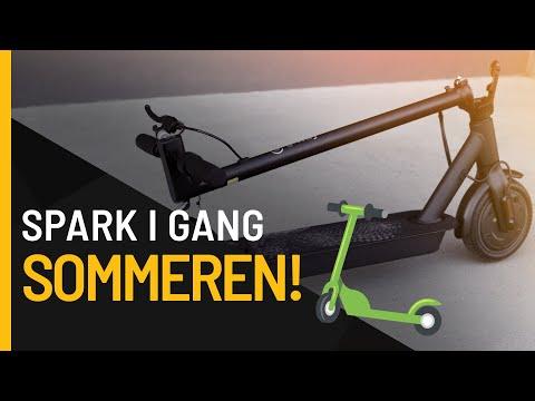 Kickstart sommeren med en splitter ny el-sparkesykkel fra e-way!