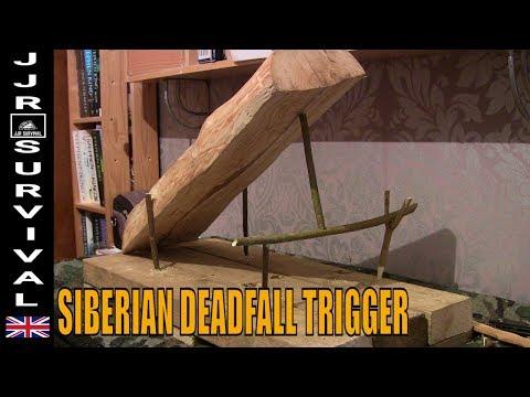 Siberian Deadfall Trap Trigger