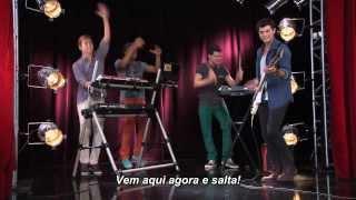 Violetta 2 - Os rapazes cantam ¨Salta¨ [Legendado em Português]