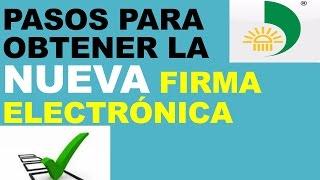 Pasos para obtener la nueva Firma Electrónica dian en colombia vídeo 1