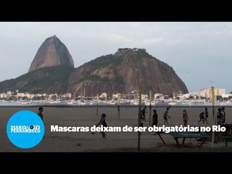 Uso de máscara em locais abertos deixa de ser obrigatório no Rio