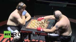 Russia: Beef and brains do battle in chess boxing tourney