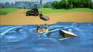 Lego City | Great Vehicles | 60058 | SUV With Watercraft | Lego 3D Review