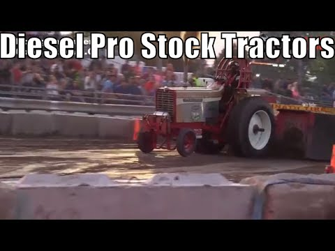 Diesel Pro Stock Tractor Class Tractor Pulls From TTPA In Bay City Michigan 2018