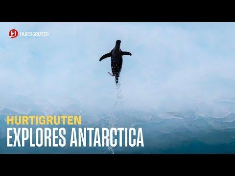 Explore Antarctica with Hurtigruten