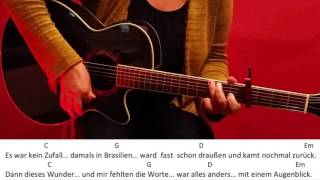 80 Millionen - Max Giesinger (EM Version) / Guitar/Tutorial/Cover/Lyrics/Chords/easy