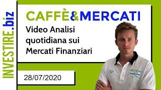 Caffè&Mercati - Prese di beneficio su GOLD e SILVER