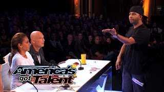 Smoothini: Bar Magician Flies Through Amazing Tricks - America's Got Talent 2014 width=