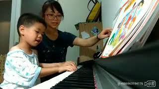 大班鋼琴~王老先生有塊地