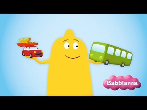 Språklek med Babblarna: Fordon (Bibbi)