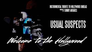 Hollywood Undead - Usual Suspects (Instrumental Cover by SonnyAntares)