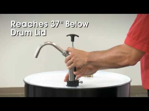 Stainless Steel Drum Pump