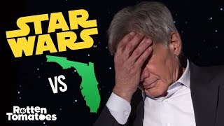 "The Force Awakens Cast Plays ""Star Wars or Florida?"""
