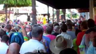 Jimmy Buffett LIVE on Duval St. Key West FL USA
