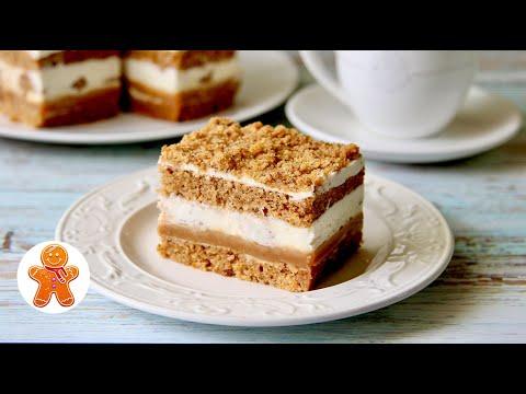 Очень Вкусные Пирожные к Чаю ✧ Прямоугольная Форма для Торта из Подручных Материалов