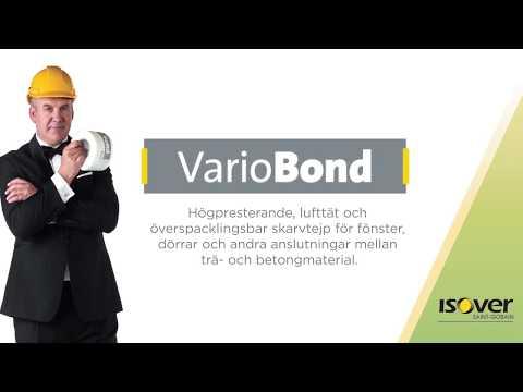 ISOVER Vario® Bond - Lufttät, vindtät och vattenavvisande