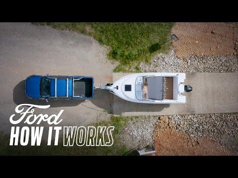 Deplasarea în marșarier în linie dreaptă cu o rulotă | Ford Ranger | Ford Romania