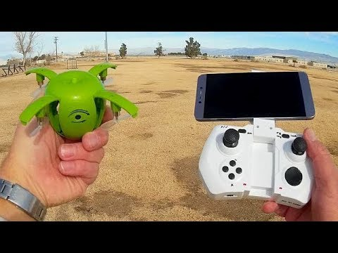 RC Leading RC130W Apple Selfie Drone Flight Test Review