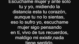 Fondo flamenco - Escuchame mujer (Con Letra)