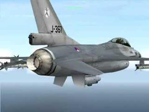 Open Falcon 4.5 F16 and F-14