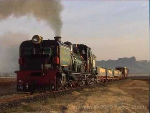 South African Steam: NGG16 Sandstone Steam Railroad, South Africa