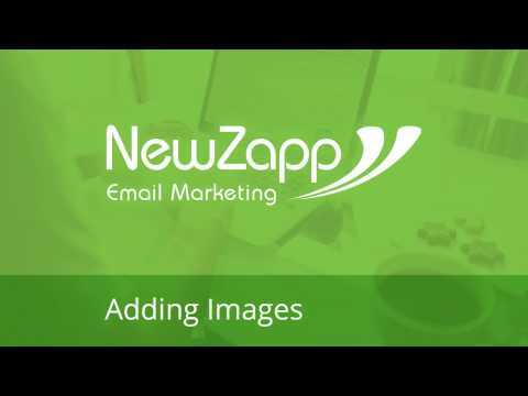 Adding Images to your email campaign
