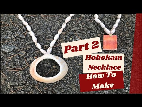 Making A Hohokam Style Necklace (Part 2 of 2)
