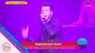Sebastián Yatra, Cali y el Dandee encendieron el escenario | Sale el Sol