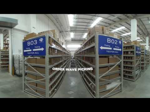 360 Virtual Tour of GEODIS Shanghai Put-to-Light System