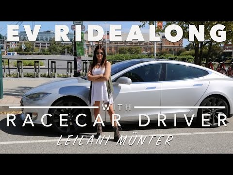 EV Ridealong with Racecar Driver Leilani Munter (U.S. Department of Energy)