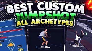 BEST CUSTOM JUMPSHOT NBA2K18 (NEVER MISS AGAIN)
