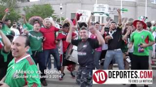 México vs. Bosnia Soldier Field
