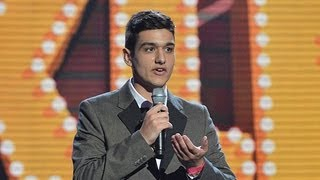 Callum Oakley comedian - Britain's Got Talent 2012 Live Semi Final - UK version