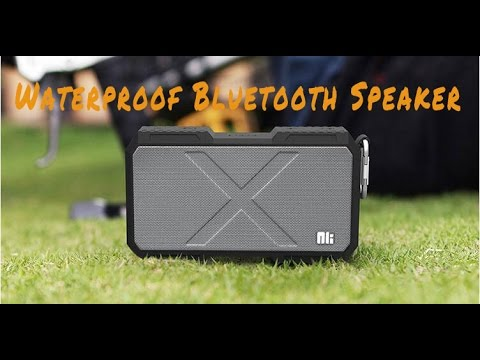 TVC - X-MAN IPX4 Waterproof Built-in Mic Bluetooth Speaker Supports AUX Input