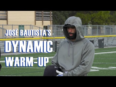 How José Bautista Warms Up For His Workouts