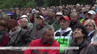 Loket: Krásný ztráty oslavili sedmdesátiny Michala Prokopa (TV Západ)