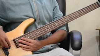 Funkytown -  Lipps Inc (Bass Cover)